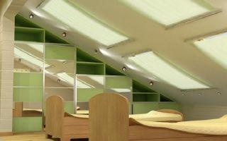 Дизайн мансарды — превращаем недостатки комнаты в достоинства