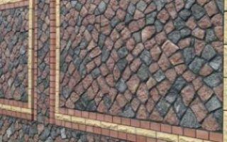 Как сделать каменный забор своими руками — пошаговая инструкция с фото и видео