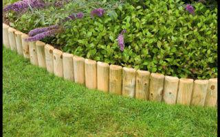 Как сделать декоративный забор и ограждения для клумб своими руками