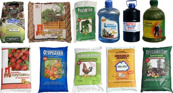 подкормки для домашних растений