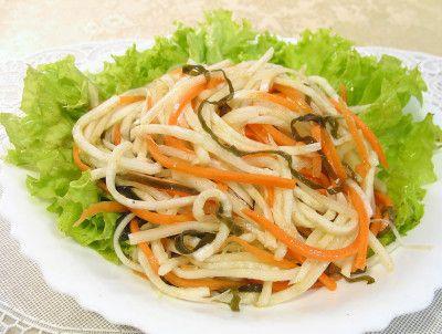 салат с редькой и топинамбуром
