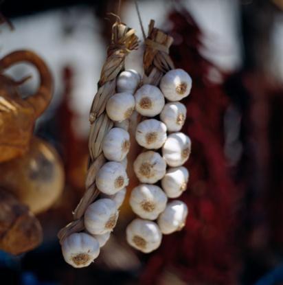 Где и как хранить чеснок зимой до нового урожая правильно, чтобы он не высох, не пожелтел и не сгнил?
